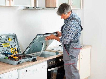 Ремонт стеклокерамических варочных панелей: вызов мастера на дом